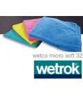 Wetco micro soft 32 Rojo (paq.5uni.)