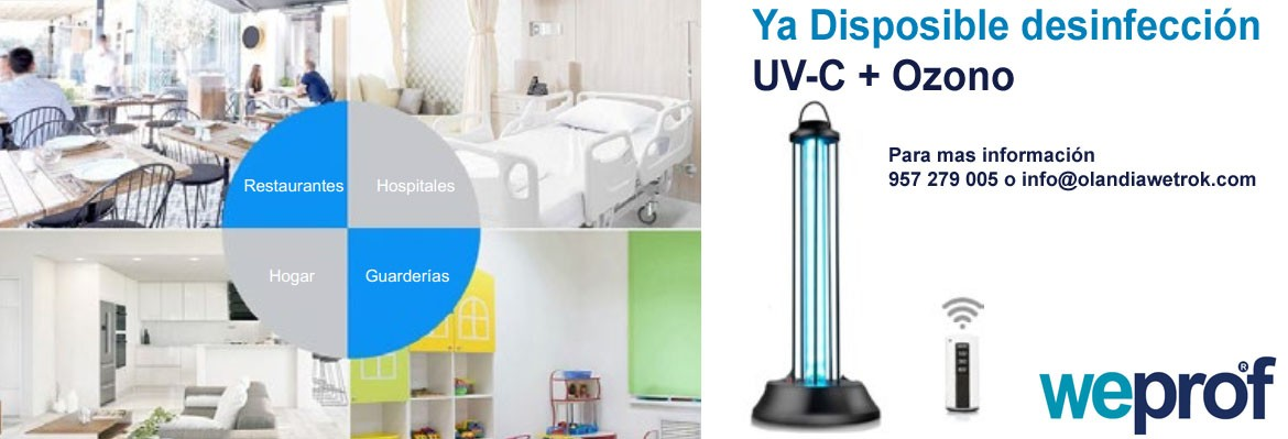 Desinfeccion UV-C + Ozono