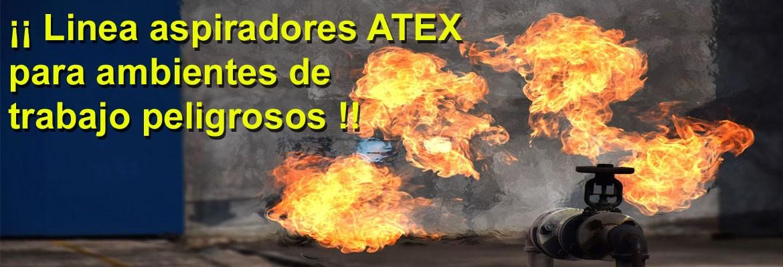 Aspiadores ATEX