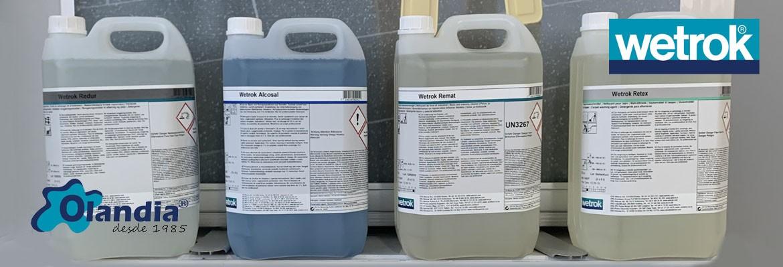 Quimicos Wetrok 5 litros